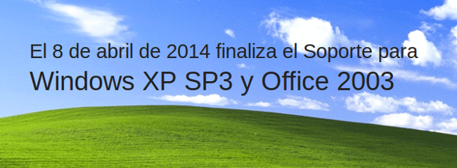 Windows XP se queda sin soporte
